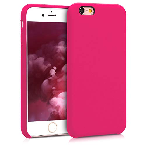 kwmobile Apple iPhone 6 / 6S Hülle - Handyhülle für Apple iPhone 6 / 6S - Handy Case in Neon Pink