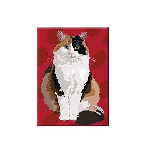 Leslie Gerry lgmag006Kühlschrank Magnet deliktrechts Katze