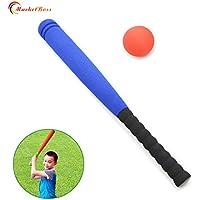 marketboss Cool Espuma Suave Bate de béisbol con pelota para niños formación/Ocio/Fitness, rojo