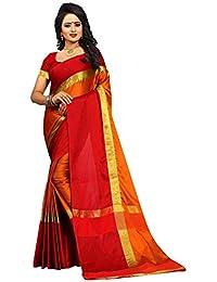 Sarees(Pramukh Saris New Collection 2018 CHANDARI DYD LESS BORDER SAREE Kalamkari Border Sarees For Women Party...