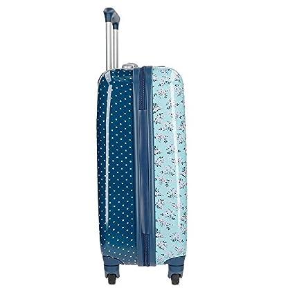 Pepe Jeans Denise Juego de maletas, 100 litros, 67 cm, Azul