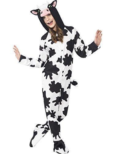 Ropa de descanso para niñas Boys animales de la granja de piel de vaca Farm Animal tipo libro Day Old Macdonald Character Fancy disfraz infantil de atuendo e instrucciones para (Kostüme Farm Animal)
