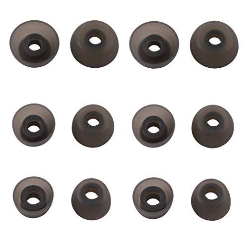 Rayker Ersatz-Ohrstöpsel für Gear IconX 2018 SM-R140 Kopfhörer, weiche Silikon-Ohrstöpsel, passt in Tasche, 6 Paar, S/M/L, passend für IconX S/M/L