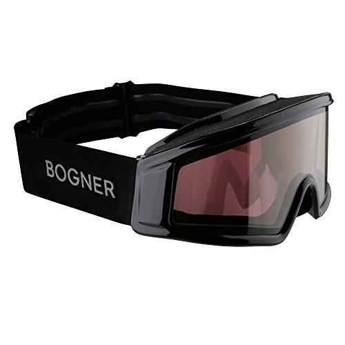 Bogner Skibrille OPTIC für Brillenträger (Black)