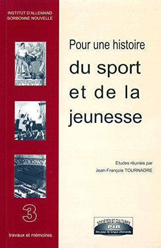 Pour une histoire du sport et de la jeunesse (Monde germanophone)