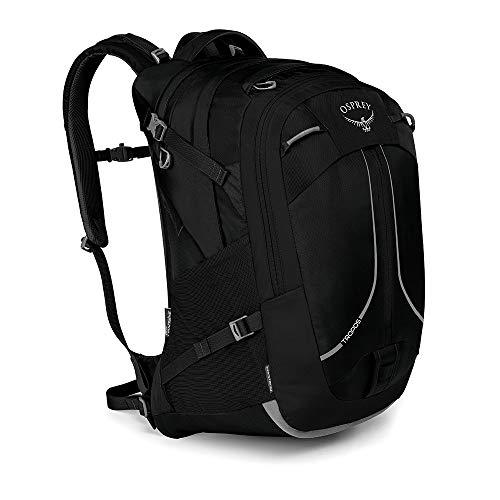 Osprey Tropos 32 Rucksack für Arbeit, Schule und Freizeit, für Männer. Mit integriertem Kickstand Klappständer - Black (O/S) -