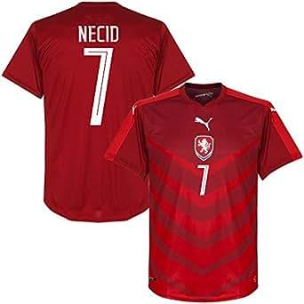 Tschechien Home Trikot 2016 2017 + Necid 7 (Fan Style)