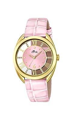 Lotus 18225/1 - Reloj de pulsera Mujer, Cuero, color Rosa