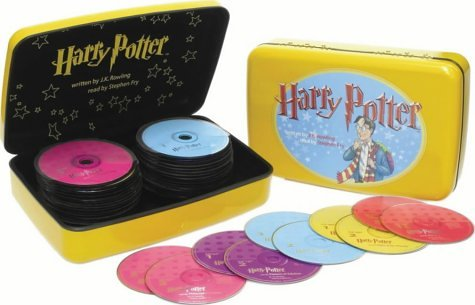 Click for larger image of Harry Potter Audio CD Collection 1-5: WITH Harry Potter and the Philosopher's Stone AND Harry Potter and the Chamber of Secrets AND Harry Potter and AND Harry Potter and the Order of the Phoenix