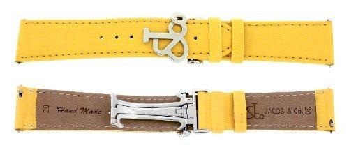 jacob-co-echtem-satin-20-mm-gelb-40-mm-armbanduhr