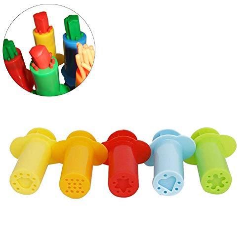 Hihey 5Pcs Smart Pasta Tools mit 5pcs Extrusionswerkzeug, Play Doh Kits