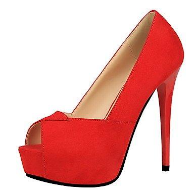 Moda Donna Sandali Sexy donna tacchi tacchi caduta / Punta abito scamosciato Stiletto Heel OthersMore Colori disponibili passeggiate gray