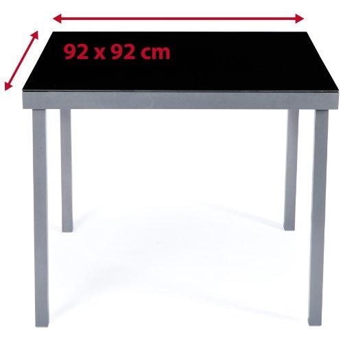 * Ultranatura Tavolo da giardino in alluminio, serie Korfu confronta il prezzo