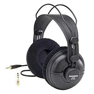 Samson SASR950 Professional Studio Reference Closed Back Headphones