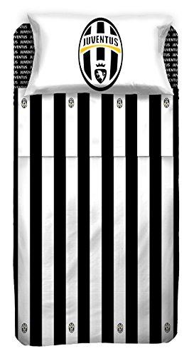 Juventus Juventus Completo Letto, Cotone, Bianco/Nero, 240 x 295 cm/180 x 200 cm/52 x 80 cm