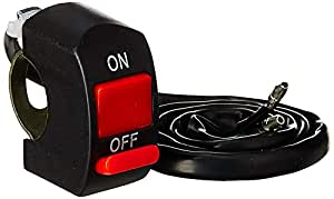 Generic Accident Hazard Light Double Control Switch Button Handle Bar