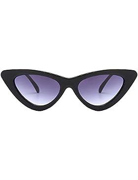 Logobeing Gafas de Sol De Ojos de Gato,Moda Chic Super Cat Eye Triangle Gafas de Sol Mujer Vintage Retro Eyewear