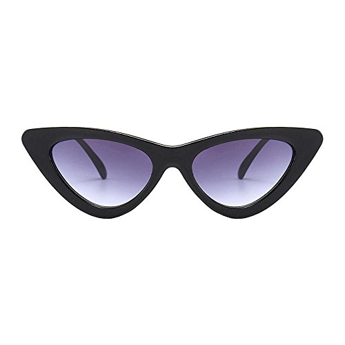Logobeing Gafas de Sol De Ojos de Gato,Moda Chic Super Cat Eye Gafas de Sol Mujer Vintage Retro Eyewear (C)