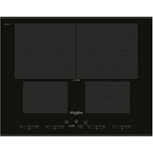 WHIRLPOOL SMO654OFBTIXL-Table de cuisson induction-4 zones-7400 W-L 65 x P 51 cm-Revetement...