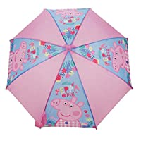 Peppa Pig Umbrella Stick, 56 cm, Pink PEPPA005115