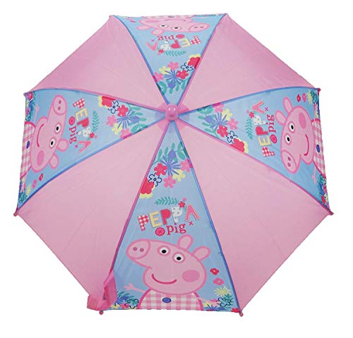 Peppa Pig Stockschirm, Rose (Pink) - PEPPA005115
