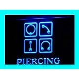 Enseigne Lumineuse i325-b Piercing Body Ear Tattoo Shop NR Neon Light Sign