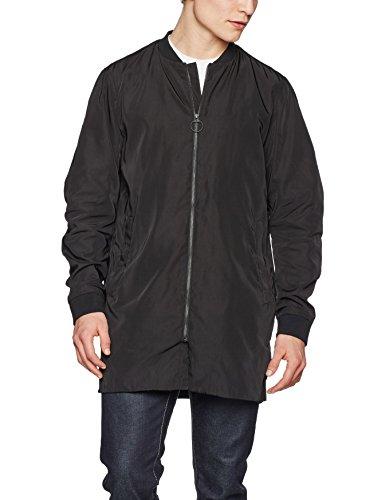 Selected Shnben Bomber Coat, Manteau Homme Noir (Black Black)
