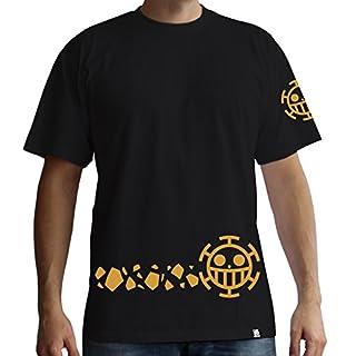 One Piece Aby T-Shirt: Trafalgar Law - New World (Schwarz) (XXL)