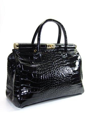 bellir-the-bag-xxl-womens-italian-genuine-patent-leather-handbag-croco-embossing-black-38x26x18-cm-w