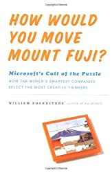 How Would You Move Mount Fuji?: Microsoft's Cult of the Puzzle