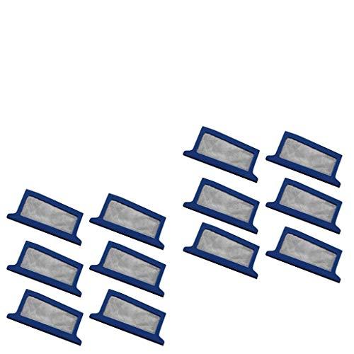 Xbeast-Ersatz-Einweg-Feinstfilter, kompatibel mit CPAP-Geräten der Philips Respironic Dreamstation-Serie (12Stück) -
