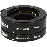 Impulsfoto Automatik Zwischenringe 2-teilig 10mm & 16mm Fuer Makrofotographie passend zu Panasonic DSLR (Micro Four Third)