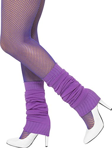 Unisex 1980's Purple Leg Wamers