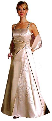 Nachtigall+Lerche Ballkleid A-Linie Abendkleid lang Festkleid Hochzeitsgast