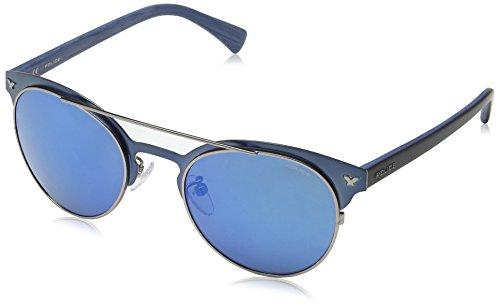 266de015ddfc15 Police - Lunettes de soleil - Homme Bleu SEMI MATT BLUE   DARK BLUE FRAME