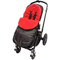 Chicco Footmuff / Cosy Toes Compatible with Urban London Echo Multiway Lite Way Red