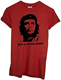 T-Shirt Hasta La Victoria Siempre Che Guevara - Política By Mush Dress Your Style