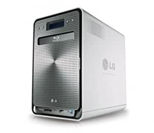 LG NAS-System 4-Bay 4TB inklusiv BDRW 4x1TB (mit Festplatte (8,8 cm (3,5 Zoll), LAN)