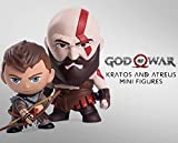 Gaming Heads God of War - Pack 2 Figurines Kratos & Atreus 7 - 9 cm