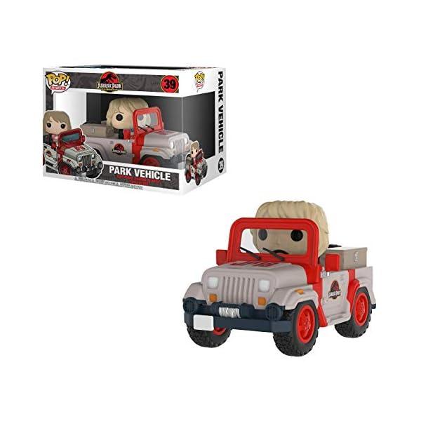 Funko Pop Dra. Ellie Sattler en coche del parque (Jurassic Park 39) Funko Pop