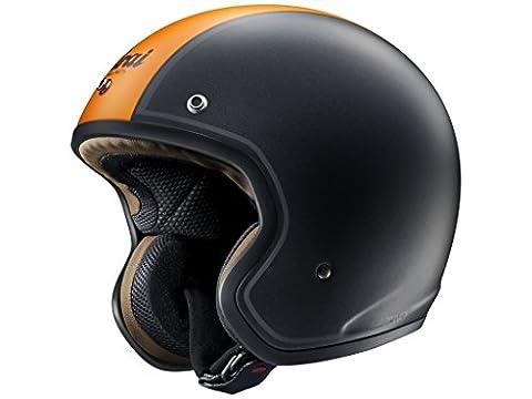 Helm Arai Freeway Classic Ride schwarz/orange/matt