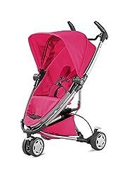 Quinny Zapp Xtra 2 Buggy Mit Viel Zubehör - Sehr Klein Zusammenfaltbar, Leicht Und Komfortabel, Pink