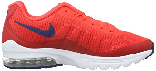 Nike W Air Max Invigor Print, Chaussures de Running Compétition Femme Multicolore (Red)