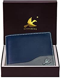 Hornbull Men's Buttler Genuine Leather RFID Blocking Wallet