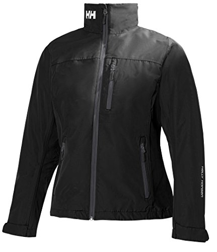 Helly Hansen Segeljacke W Crew Midlayer Jacket, 990 Black, S, 30317