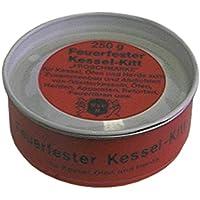 FERMIT Dichtungsmasse max. Temperatur 1000°C Kesselkit asbestfrei feuerfest 250g Dose
