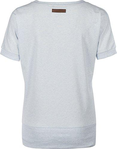 Baunxxx Wit It T-Shirt cloudy melange Blau Meliert
