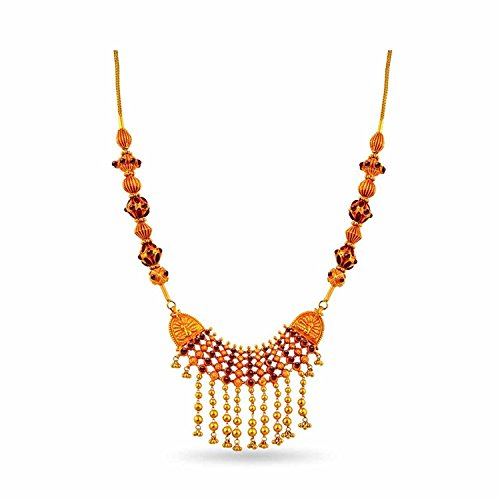 WHP Jewellers 22k (916) Yellow Gold Multi-Strand Necklace