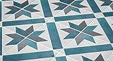 MoonStickers Adhesivos de Azulejos - Paquete de 10 Baldosas
