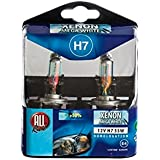 All Ride - 871125201233 - Ampoules de phares auto 12 V H4 Kit Xenon Super - Blanches